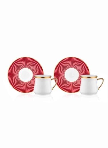 The Mia Rouge Kahve Fincanı -2 Kişilik Renkli